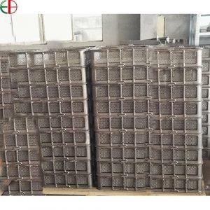 Heat Treatment Basket Casting Iron Furnace Base Tray