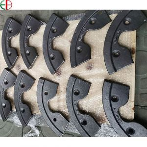 AS2027 NiCr2-500 Concrete Mixer Wear Blades